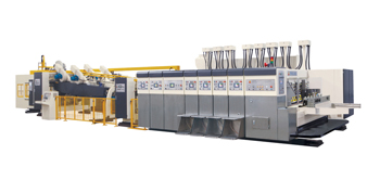 INOVA-TP-FFG Open&close type vacuum transfer top print flexo folder gluer