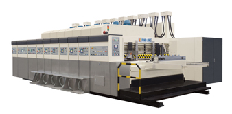 INOVA-BP Vacuum transfer bottom printing slotting die-cutting machine