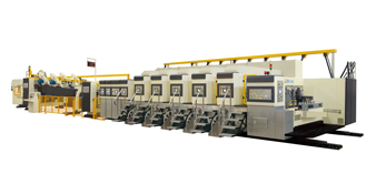 VRIDA-TP-FFG Fixed printing unit flexo folder guler